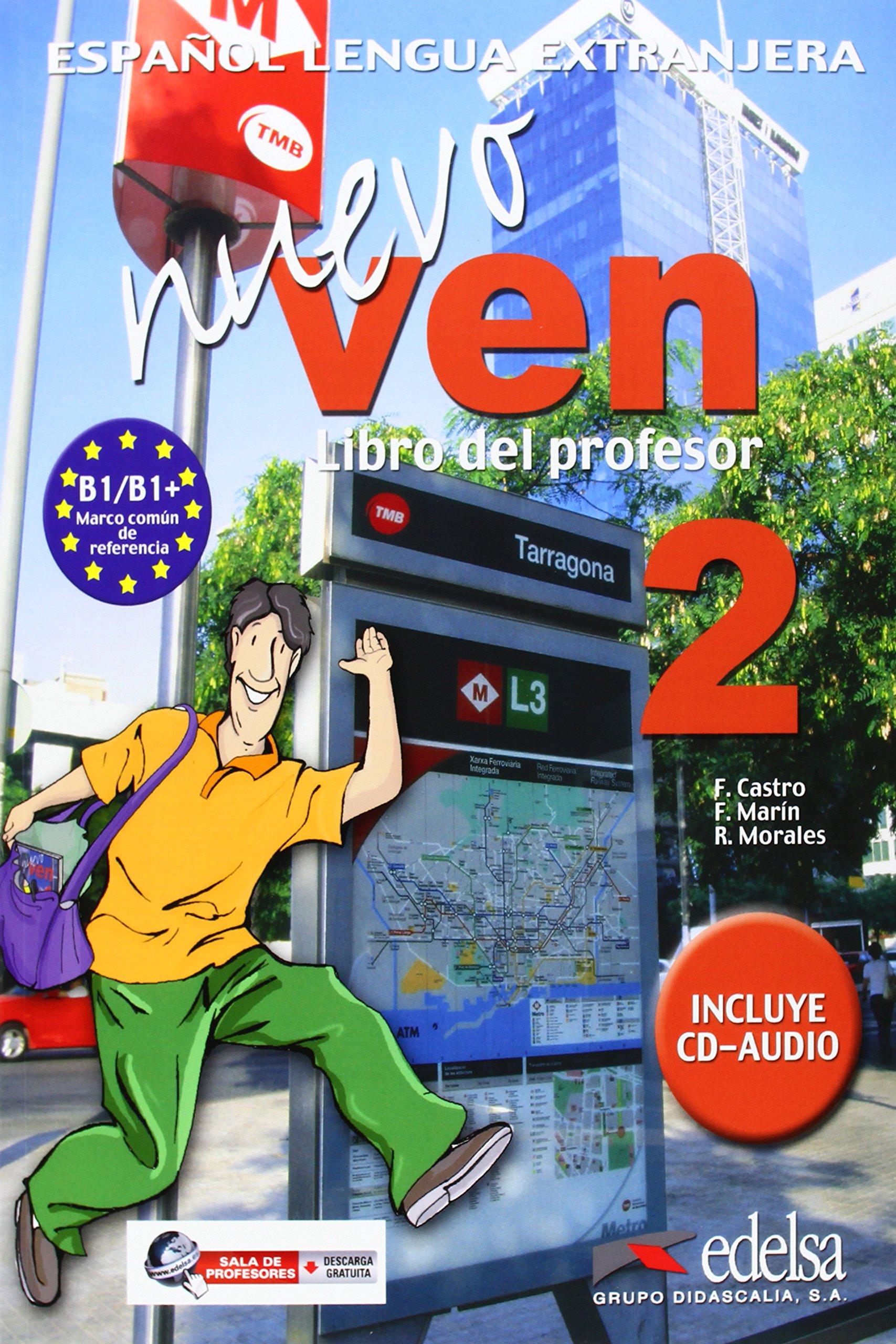 NUEVO VEN 2. LIBRO DEL ALUMNO + CD AUDIO- Учебник по испански език с аудио CD