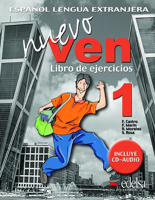 NUEVO VEN 1. LIBRO DE EJERCICIOS + CD- Учебна тетрадка с аудио CD