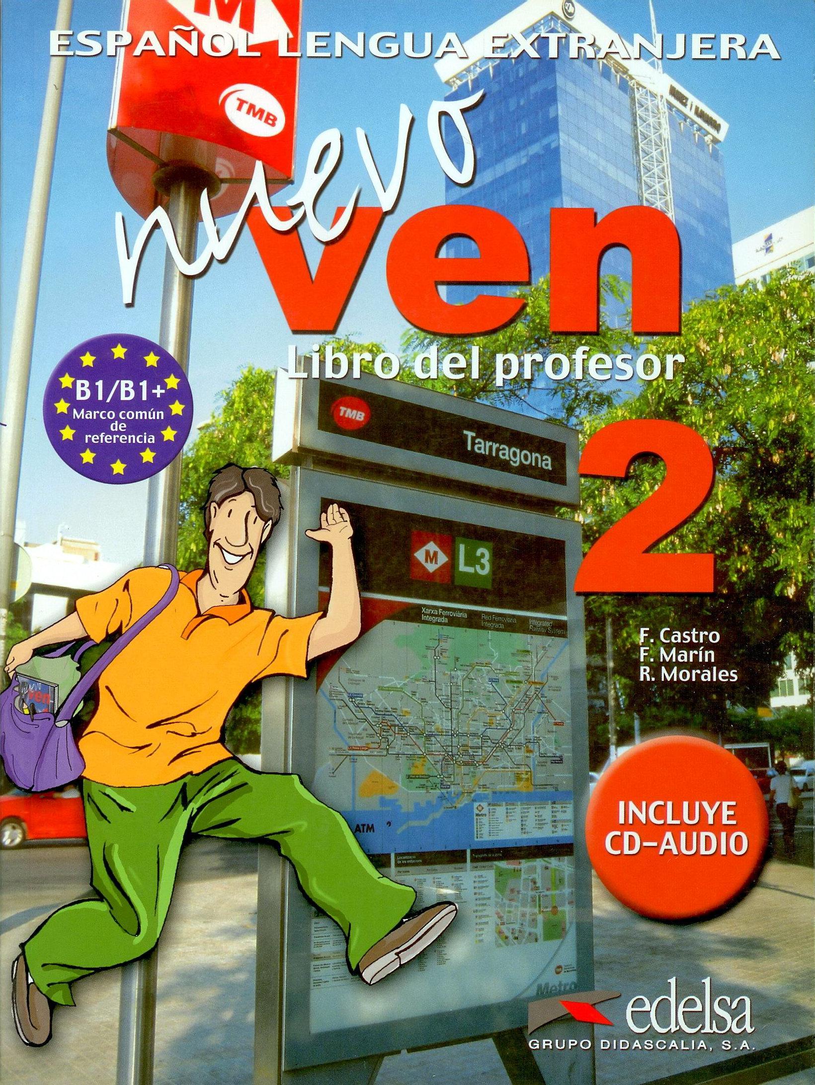 NUEVO VEN 2. LIBRO DEL PROFESOR + CD- Ръководство за учителя + учебник
