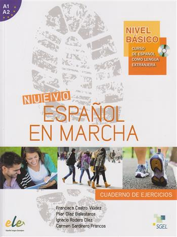 Nuevo español en marcha (Nivel A1+A2) Básico cuaderno de ejercicios + CD audio