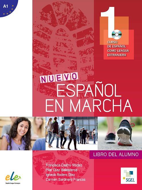Nuevo Español en marcha 1 - Libro del alumno+CD.Учебник по  испански език за ниво А1.