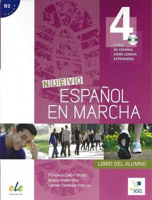 Nuevo Español en marcha 4 - Libro del alumno+CD.Учебник по испански език за ниво B2.