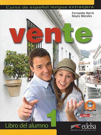 VENTE 1. LIBRO DEL ALUMNO.Учебник по испански език за нивa А1-А2.