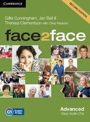 face2face: Учебна система по английски език - Second edition Advanced Class Audio CDs (3)