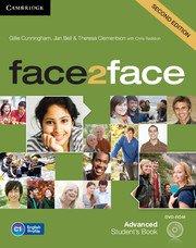 face2face: Учебна система по английски език - Second edition Advanced Student\'s Book with DVD-ROM. Учебник + DVD- ROM