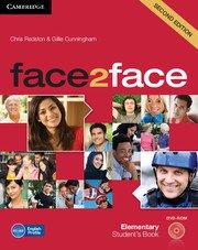 face2face: Учебна система по английски език - Second edition Elementary Student\'s Book with DVD-ROM. Учебник + DVD