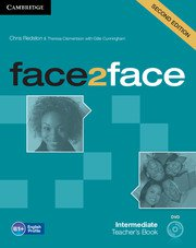 face2face: Учебна система по английски език - Second edition Intermediate Teacher's Book with DVD. Учебник за учителя + DVD.