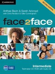 face2face: Учебна система по английски език - Second edition Intermediate Testmaker CD-ROM and Audio CD. Тестове.