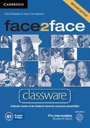 face2face: Учебна система по английски език - Second editionPre-intermediate Classware DVD-ROM