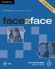 face2face: Учебна система по английски език - Second edition Pre-intermediate Teacher\'s Book with DVD. Учебник за учителя+ DVD