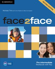 face2face: Учебна система по английски език - Second edition Pre-intermediate Workbook with Key. Учебна тетрадка с отговори.