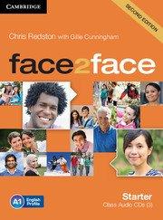 face2face: Учебна система по английски език - Second edition Starter  Class Audio CDs (3)