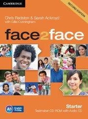face2face: Учебна система по английски език - Second edition Starter Testmaker CD-ROM and Audio CD. Тестове.
