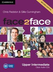 face2face: Учебна система по английски език - Second edition Upper-intermediate Class Audio CDs (3)