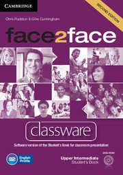 face2face: Учебна система по английски език - Second edition Upper-intermediate Classware DVD-ROM