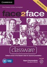 face2face: Учебна система по английски език - Second edition Upper-intermediate Classware DVD-ROM