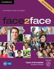 face2face: Учебна система по английски език - Second edition Upper-intermediate Student's Book with DVD-ROM.Учебник + DVD- ROM