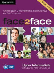 face2face: Учебна система по английски език - Second edition Upper-intermediate Testmaker CD-ROM and Audio CD. Тестове.