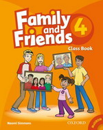Family and Friends 4 Class Book and MultiROM Pack<br>Учебник по английски език за деца