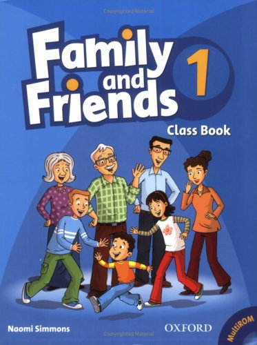 Family and Friends 1 Class Book and MultiROM Pack<br>Учебник по английски език за деца