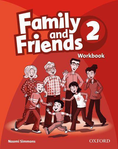 Family and Friends 2 Workbook<br>Учебна тетрадка по английски език за деца