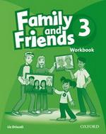 Family and Friends 3 Workbook<br>Учебна тетрадка по английски език за деца