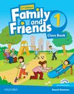 Family and Friends Level 1 Class Book and MultiROM Pack.Second Edition. Учебник по английски език за деца.