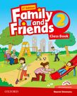 Family and Friends Level 2 Class Book and MultiROM Pack.Second Edition.Учебник по английски език за деца.