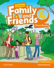 Family and Friends Level 4 Class Book and MultiROM Pack  Second Edition.Учебник по английски език за деца.