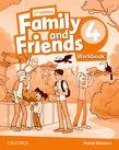 Family and Friends Level 4 Workbook  Second Edition.Учебна тетрадка по английски език за деца.