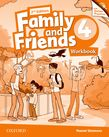 Family and Friends Level 4 Workbook & Online Skills Practice Pack  Second Edition.