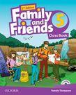 Family and Friends Level 5 Class Book Pack  Second Edition.Учебник по английски език за деца.