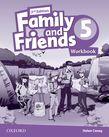 Family and Friends Level 5 Workbook  Second Edition.Учебна тетрадка по английски език за деца.