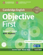 Objective First Forth Edition <br> Student's Book with ans. + CD-ROM