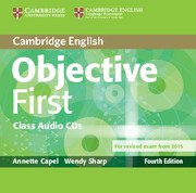 Objective First Forth Edition <br> Audio CDs (2)
