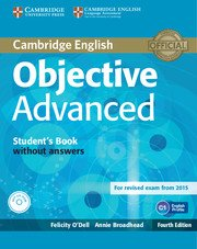 Objective Advanced Forth Edition Student's Book without Answers with CD-ROM
