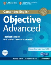 Objective Advanced Forth Edition Teacher's Book with Teacher's Resources CD-ROM