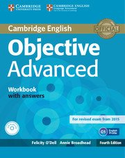 Objective Advanced Forth Edition Workbook with Answers with Audio CD