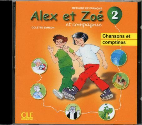 Alex et Zoé - Niveau 2 - CD audio individuel