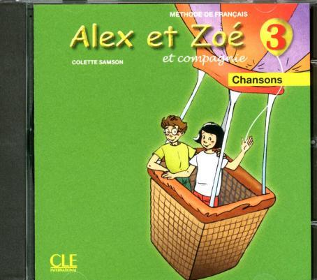 Alex et Zoé - Niveau 3 - CD audio individuel