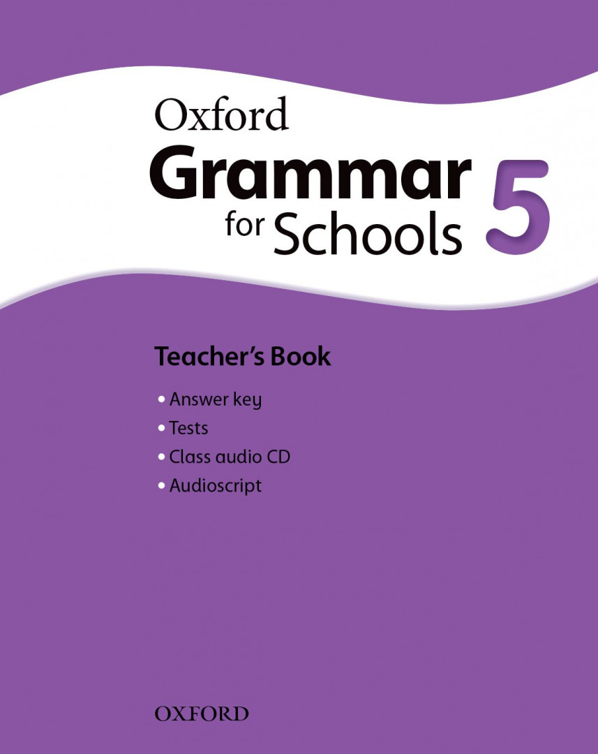 Оксфорд Oxford Grammar for schools 5 Teacher's book & Audio CD