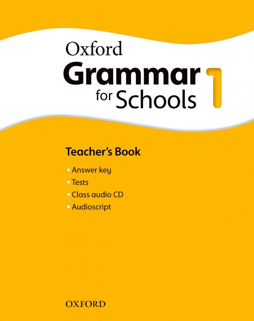 Оксфорд Oxford Grammar for Schools 1 Teacher's Book and Audio CD Pack