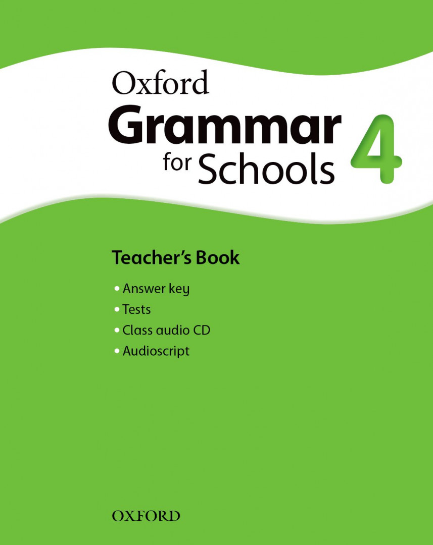 Оксфорд Oxford Grammar for schools 4 Teacher's book & Audio CD