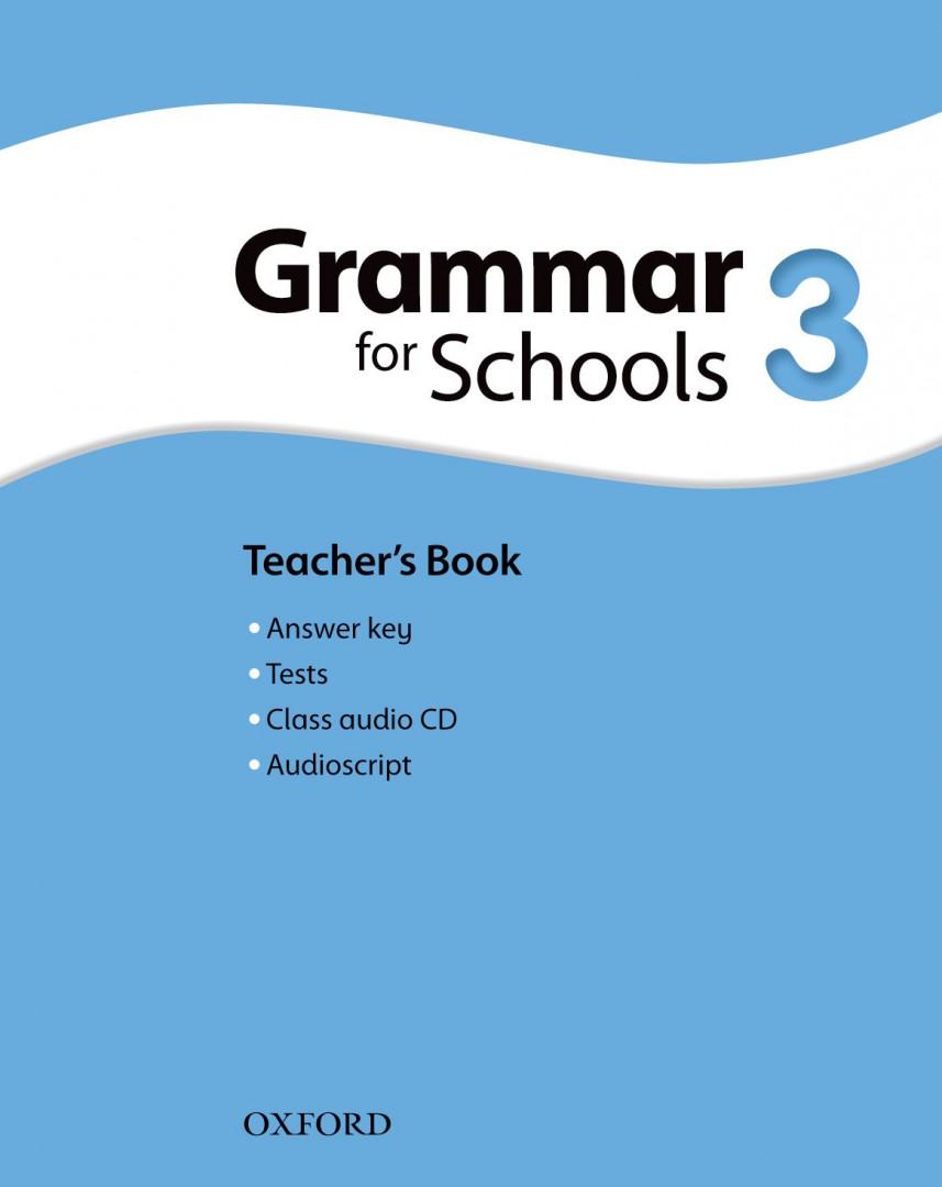 Оксфорд Oxford Grammar for Schools 3 Teacher's book and Audio CD Pack