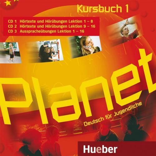 Planet 1 3 Audio-CDs zum Kursbuch