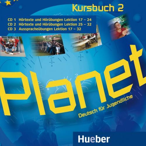 Planet 2 3 Audio-CDs zum Kursbuch