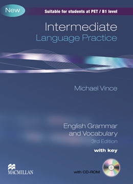 Intermediate Language Practice with CD-ROM with Key Edition<br>Английска граматика и лексика за средно напреднали (B1)