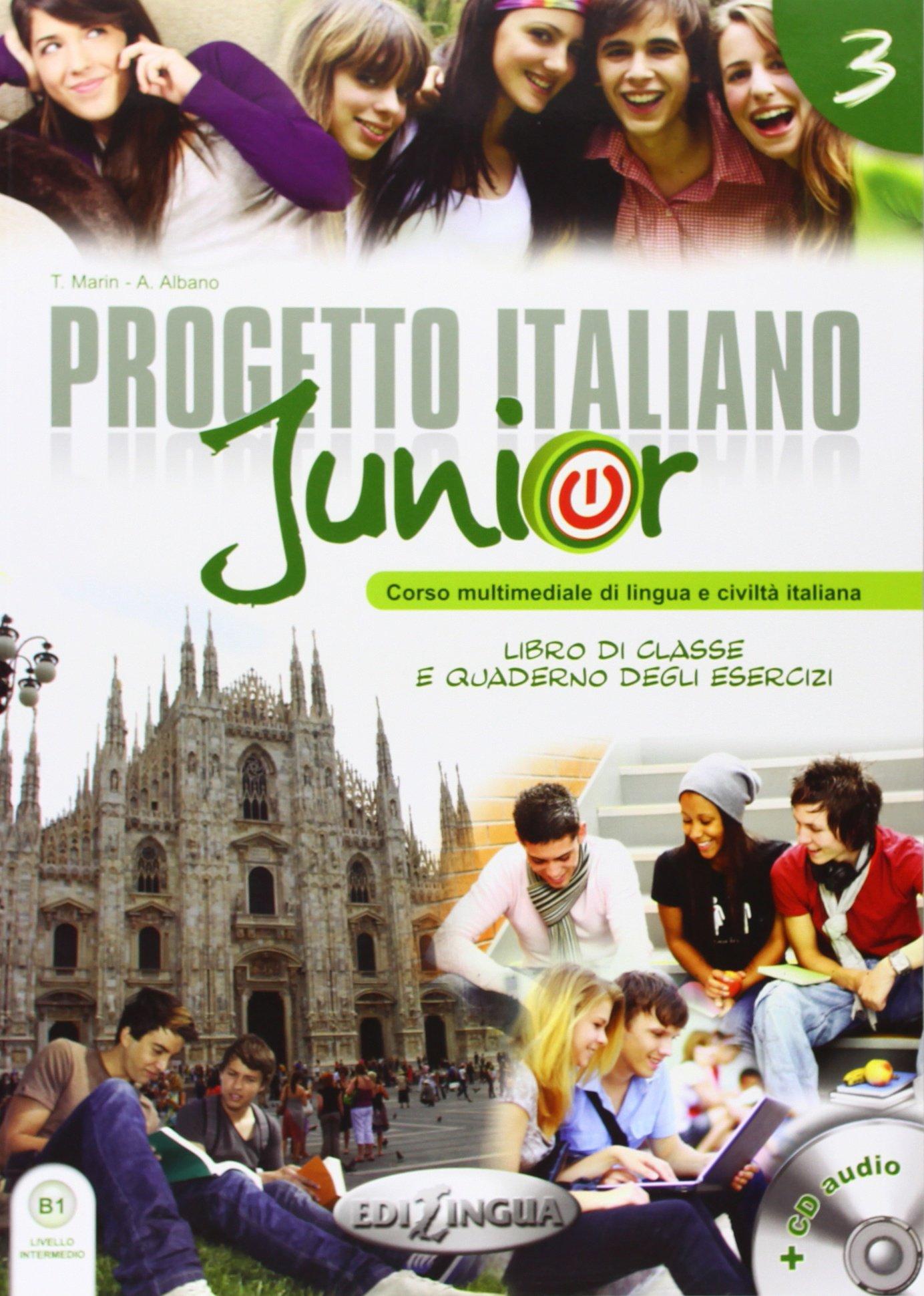 Progetto italiano Junior 3 (+DVD).Livello intermedio (B1)