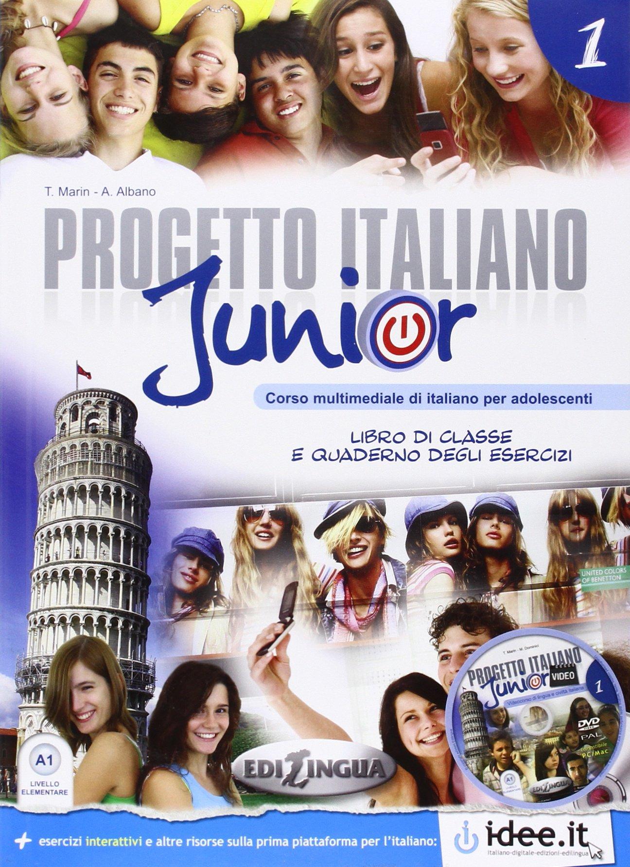 Progetto italiano Junior A1 (+DVD)