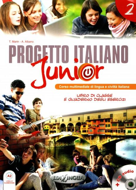 Progetto italiano Junior A2 (+DVD)